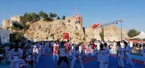 Eğirdir'de 320 sporcunun katılımıyla Taekwondo Zafer Kupası heyecanı