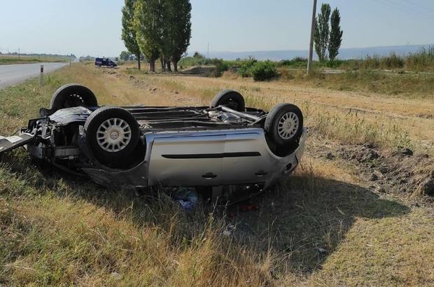 Alpu yolunda yine kaza: 3 yaralı