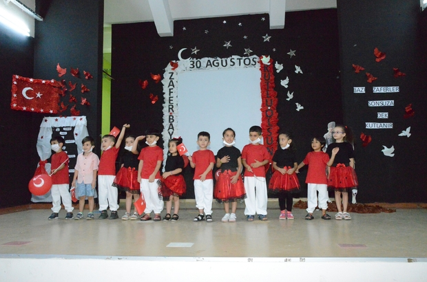 Diyarbakırlı minikler 30 Ağustos Zafer Bayramını kutladı