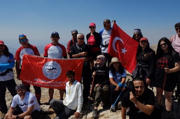 30 Ağustos Zafer Bayramında Berit Dağına zafer tırmanışı