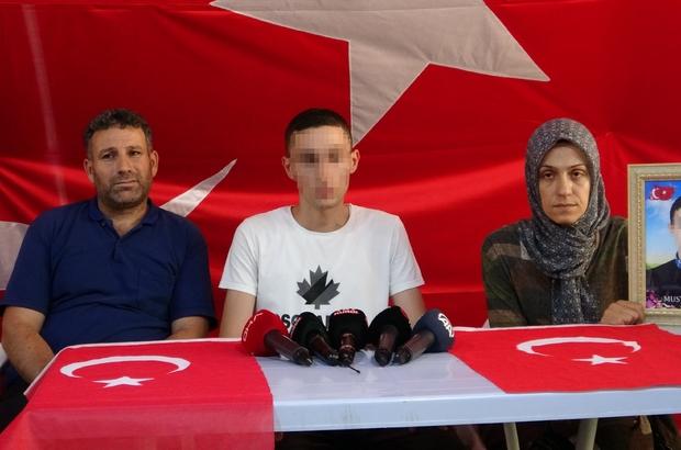 Terör örgütü PKK'dan kaçan Mustafa Biçer, dağdaki çocuklara çağrıda bulundu