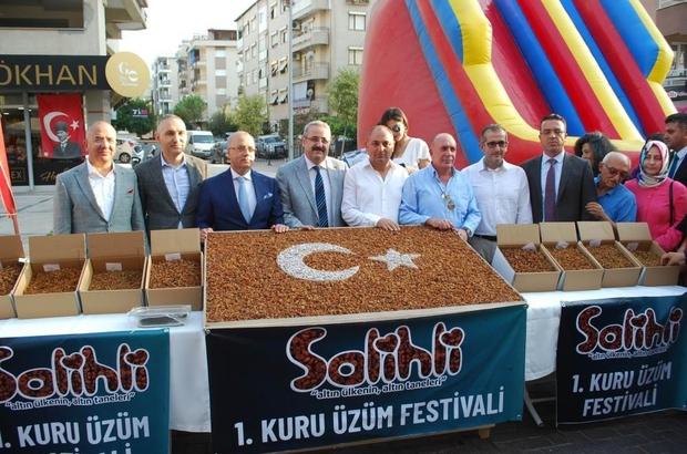 Salihli'de en güzel üzümler yarışacak
