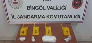 Bingöl'de 500 bin TL değerinde uyuşturucu ele geçirildi