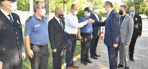 Vali Canalp, İl Emniyet Müdürlüğü rütbe terfi törenine katıldı