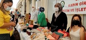 Kadın girişimciler doğal ürünlerini satıyor