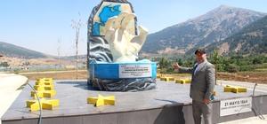 Çerkes sürgünü anıtına ziyaretçi ilgisi