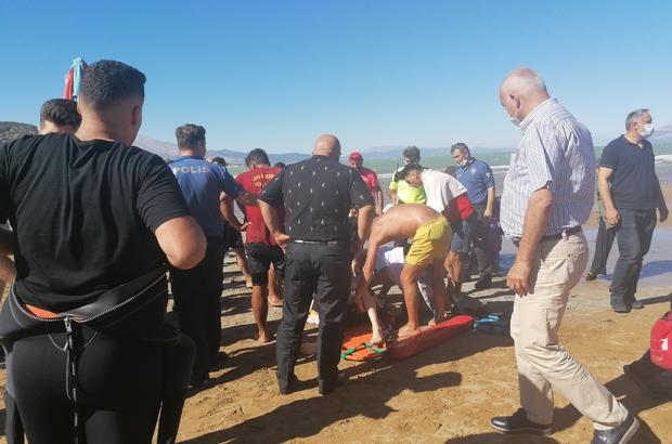 14 yaşındaki genç Eğirdir Gölü'nde boğuldu