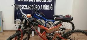 Kahramanmaraş'ta bisiklet hırsızları tutuklandı