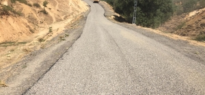Bingöl'de köy yolları asfaltlanıyor