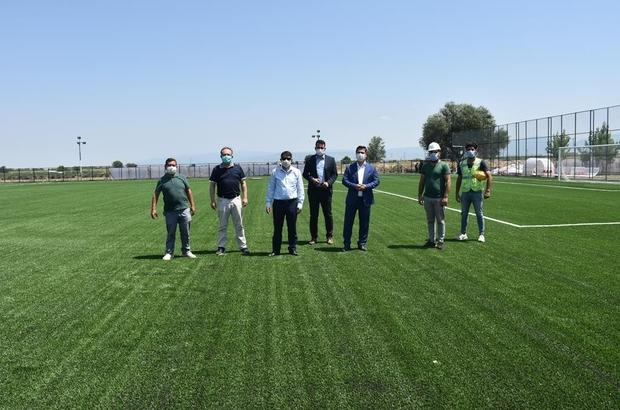 Manisa'da amatör kulüplere saha desteği İsmail Şahin Spor Tesisleri kapılarını amatör spor kulüplerine açıyor
