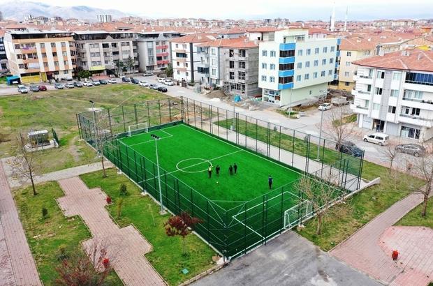 Yeşilyurt Belediyesi'nden spora ve gençliğe dev yatırımlar Yeşilyurt'ta gençlere 25 Milyon TL'lik spor yatırımı