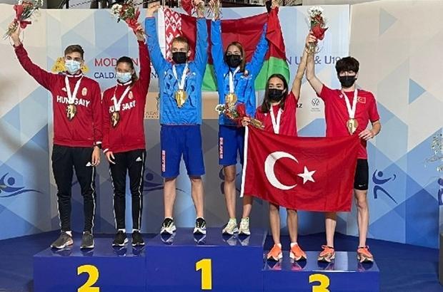 Malatyalı milli sporcu bronz madalya kazandı