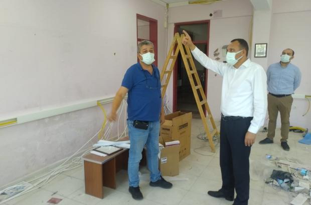 Alaşehir'de sürücü adaylarını sevindiren çalışma Alaşehir'e 'E-Sınav Salonu' kazandırılıyor