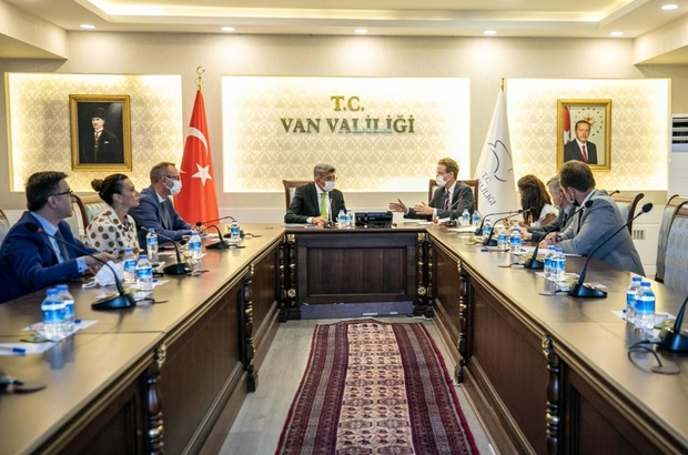 AB Türkiye Delegasyonu Başkanı Landrut Van'da