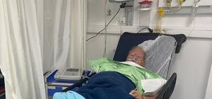 Teknesi batan yaşlı adam son ânda kurtarıldı 75 yaşındaki yaşlı adam boğulmaktan son ânda kurtarıldı