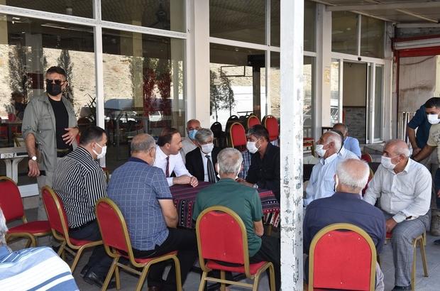 Vali Topdağı'nda vatandaşlarla buluştu