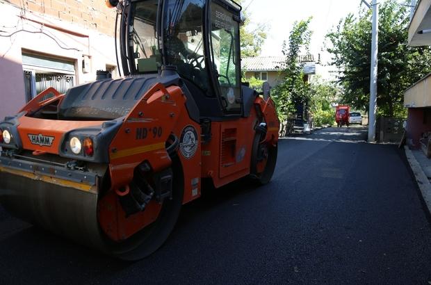 32 Evler'de sekiz sokak daha asfaltlandı