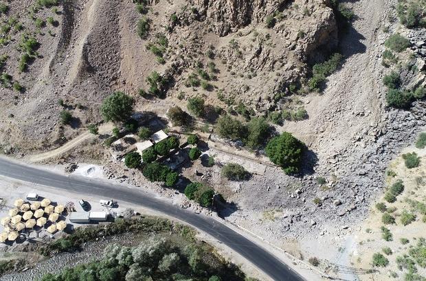 Kanispi Şelale'sinde restorasyon çalışmaları başladı