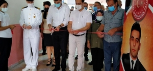 Şehit Astsubay Hakan Karataş anısına kütüphane açıldı