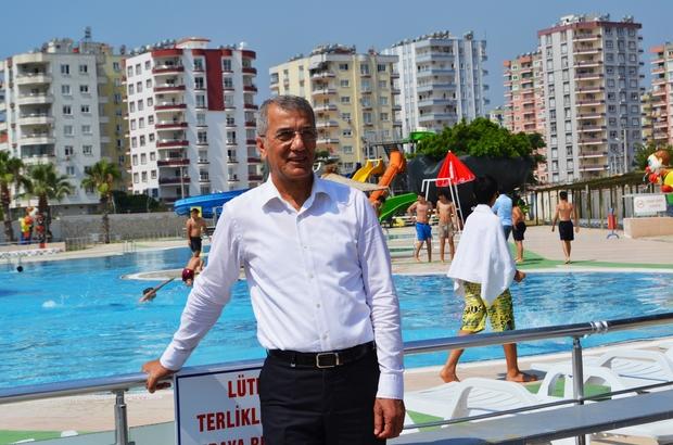 Mezitli Belediyesi Su Parkından 19 bin kişi yararlandı