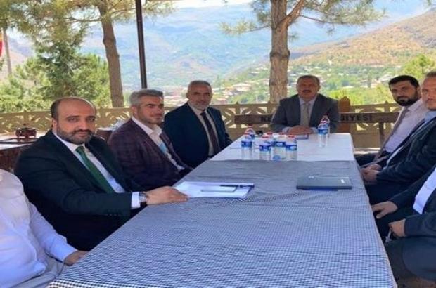 Erzincan İlçe Müftüleri Mutat Eylül Ayı Toplantısı Kemaliye'de yapıldı