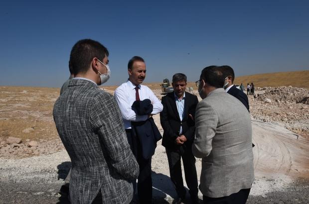 Şanlıurfa Gıda İhtisas OSB'de altyapı çalışması devam ediyor