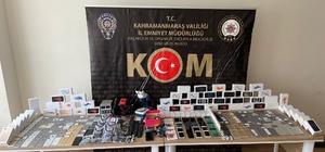 Kahramanmaraş'ta telefon kaçakçılığı: 1 gözaltı