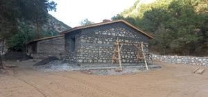 Tunceli'de alternatif kamping alanı kuruluyor