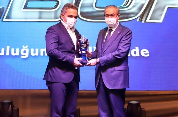Hasan Yıldırım'a 'Yılın Sanayicisi Ödülü'