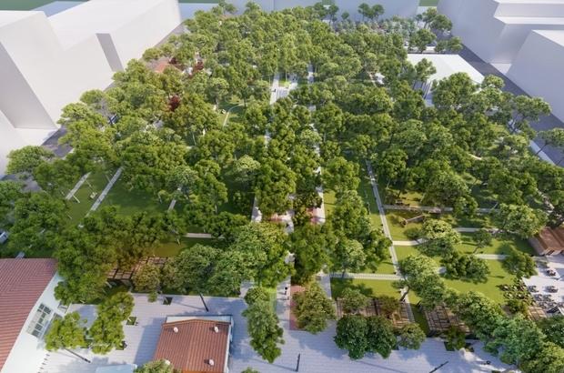 Akhisar'a büyükşehir imzası Şehit Necdi Şentürk Parkı, büyükşehirle değişimi yaşayacak