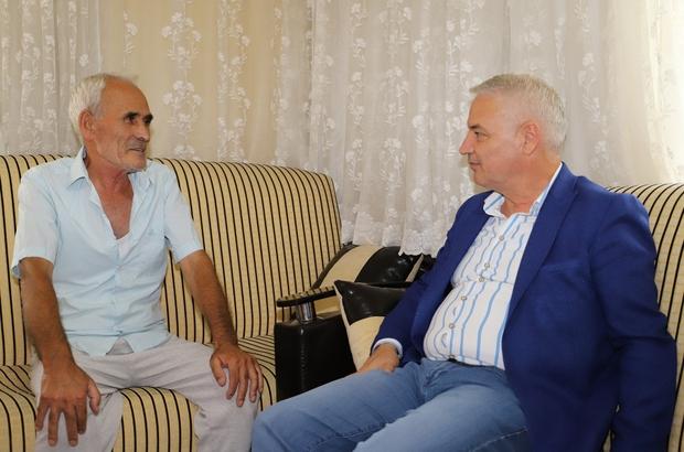 Başkan Bilgin'den İlyas Çetin'e 'Geçmiş olsun' ziyareti