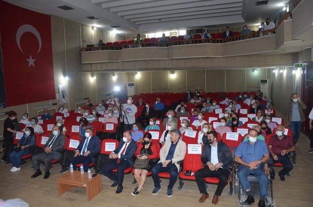 Sinop'ta kent konseyi genel kurul toplantısı