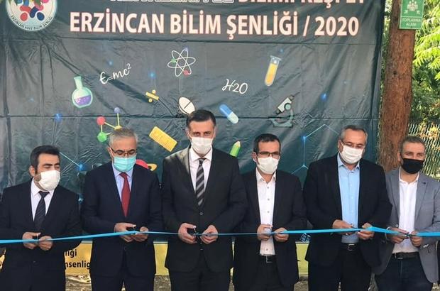 """""""Tüm Renkleriyle Bilimi Keşfet; Erzincan Bilim Şenliği"""" projesinin açılışı gerçekleşti"""