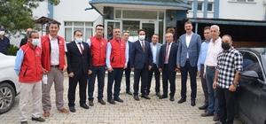 Gerze'deki otelin yurt olma durumu Gençlik ve Spor Bakan Yardımcısı Gerze'de