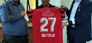 İşadamlarından Elbeylispor'a destek