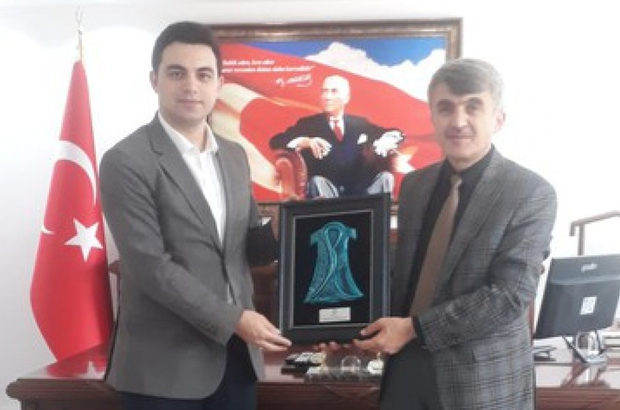 Rektör Uysal'dan, Çavdarhisar Kaymakamı Sirkeci'ye ziyaret