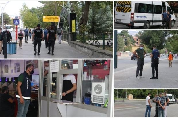 """Erzincan polisinden """"Güvenli Eğitim Uygulaması"""""""