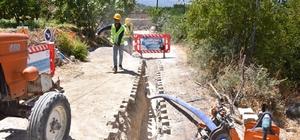 MESKİ, Mut Tuğrul Mahallesine yeni içmesuyu hattı kazandırıyor