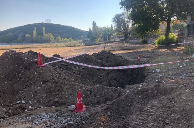 Eğirdir Gölü kenarındaki atık su deşarj borusu iptal edildi Kanalizasyon borusunun patlaması sonucu atık suyun göle karıştığı iddia edilmişti