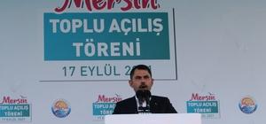 """Bakan Kurum: """"20 yılda 2.5 milyon konut yapıp teslim ettik"""" Çevre ve Şehircilik Bakanı Murat Kurum: """"101 millet bahçesini vatandaşlarımızın hizmetine sunduk"""""""