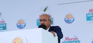 """Bakan Elvan: """"Mersin, Akdeniz'in parlayan yıldızı"""""""