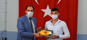 Erzincan'da yılın ahileri Mesleki Eğitim Merkezi öğrencileriyle Kariyer etkinliğinde buluştu