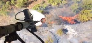 Anamur'daki orman yangını kontrol altına alındı