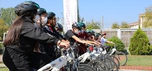 İzmitli gençler pedalları sağlık için çevirdi