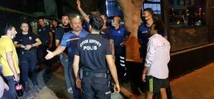 Sınır dışı edilebilmek için yangın çıkarttı Boş işyerini yakıp gelen ekiplerden polisi çağırmalarını istedi