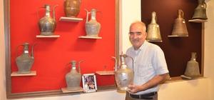 """Antalya'da """"Kullanılmış Bakır Kap Müzesi"""" açıldı Müzede Osmanlı dönemine ait yaklaşık bin 200 bakır kap sergileniyor"""