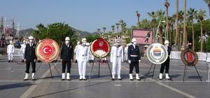 19 Eylül Gaziler Günü, Marmaris'te de düzenlenen törenle kutlandı