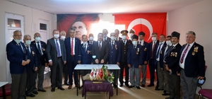 Mudanya'da gaziler unutulmadı