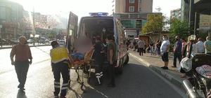 Bursa'da taksici ile yolcu arasında çıkan kavgada şoför bıçakla yaralandı