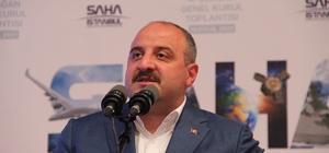 """Bakan Varank'tan CHP'ye tepki: """"Madem Yunanistan'ın tezlerini savunuyorsunuz gidin Yunanistan'da siyaset yapın"""" Sanayi ve Teknoloji Bakanı Mustafa Varank: """"Milli Teknoloji Hamlesi vizyonu ile adeta bir şahlanma dönemine girdik"""" """"Savunma sanayinin kritik sektörlerinde kritik sistemlerinde yüzde 100 yerliliğe ulaşmayı kendimize hedef olarak koyuyoruz"""""""